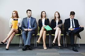 interviu pentru job sala de asteptare