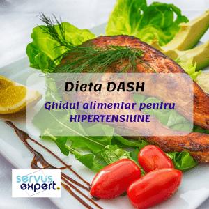 Dieta DASH. Control eficient al TENSIUNII ARTERIALE. VIDEO