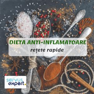 DIETA ANTIINFLAMATOARE: cum combatem inflamația?