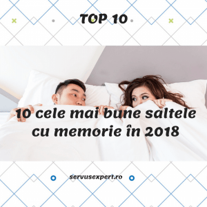 10 cele mai bune saltele cu memorie pentru un somn fără dureri