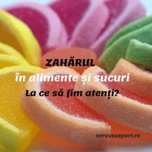 ZAHĂRUL din alimente și sucuri de fructe. Ce consum este recomandat?