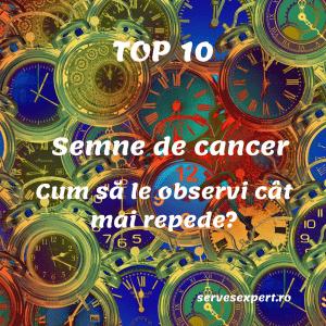 10 semne de CANCER pe care femeile nu trebuie să le ignore. Ghid Vizual