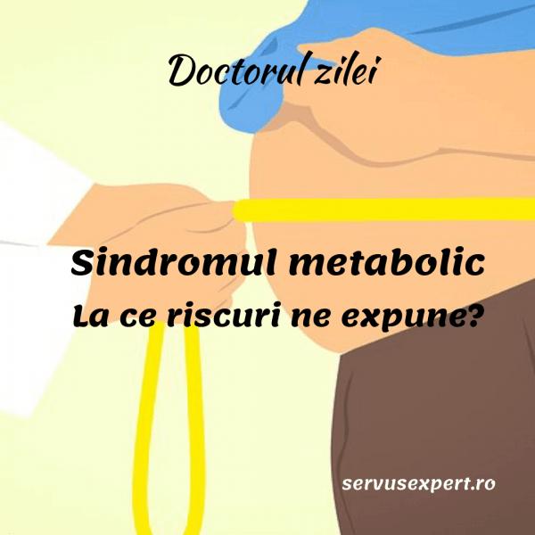 sindromul metabolic nu poate pierde în greutate)