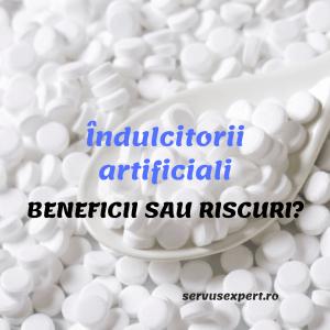 ÎNDULCITORI ARTIFICIALI: Beneficii sau Riscuri ?