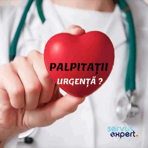 PALPITAȚII: inima bate neregulat. Este urgență?