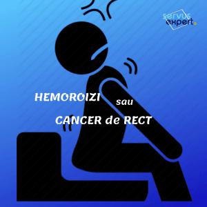 HEMOROIZI sau CANCER de RECT ?