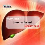 Hepatita A sau Hepatita B _