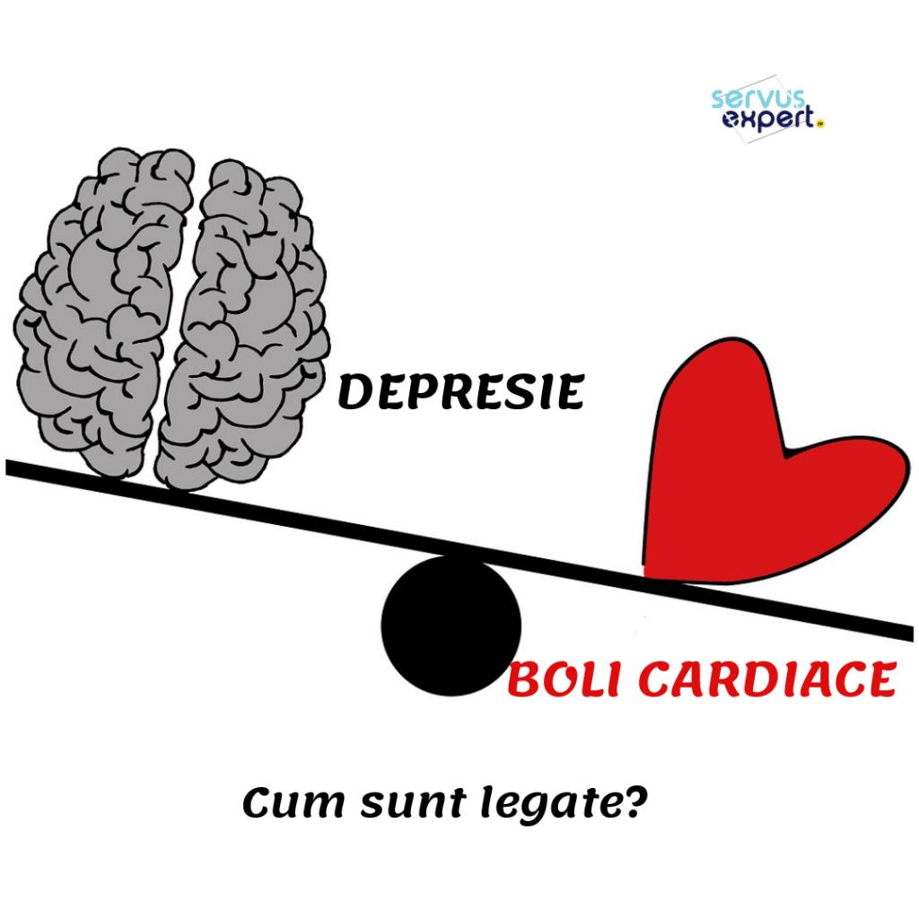 boli cardiace și depresie