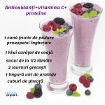 1 cană fructe de pădure proaspete_ înghețate