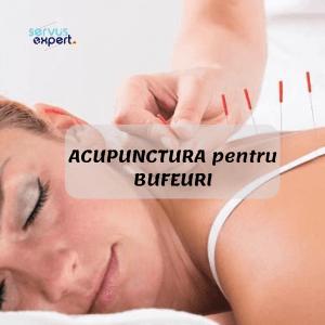 ACUPUNCTURA pentru BUFEURI-noutăți medicale