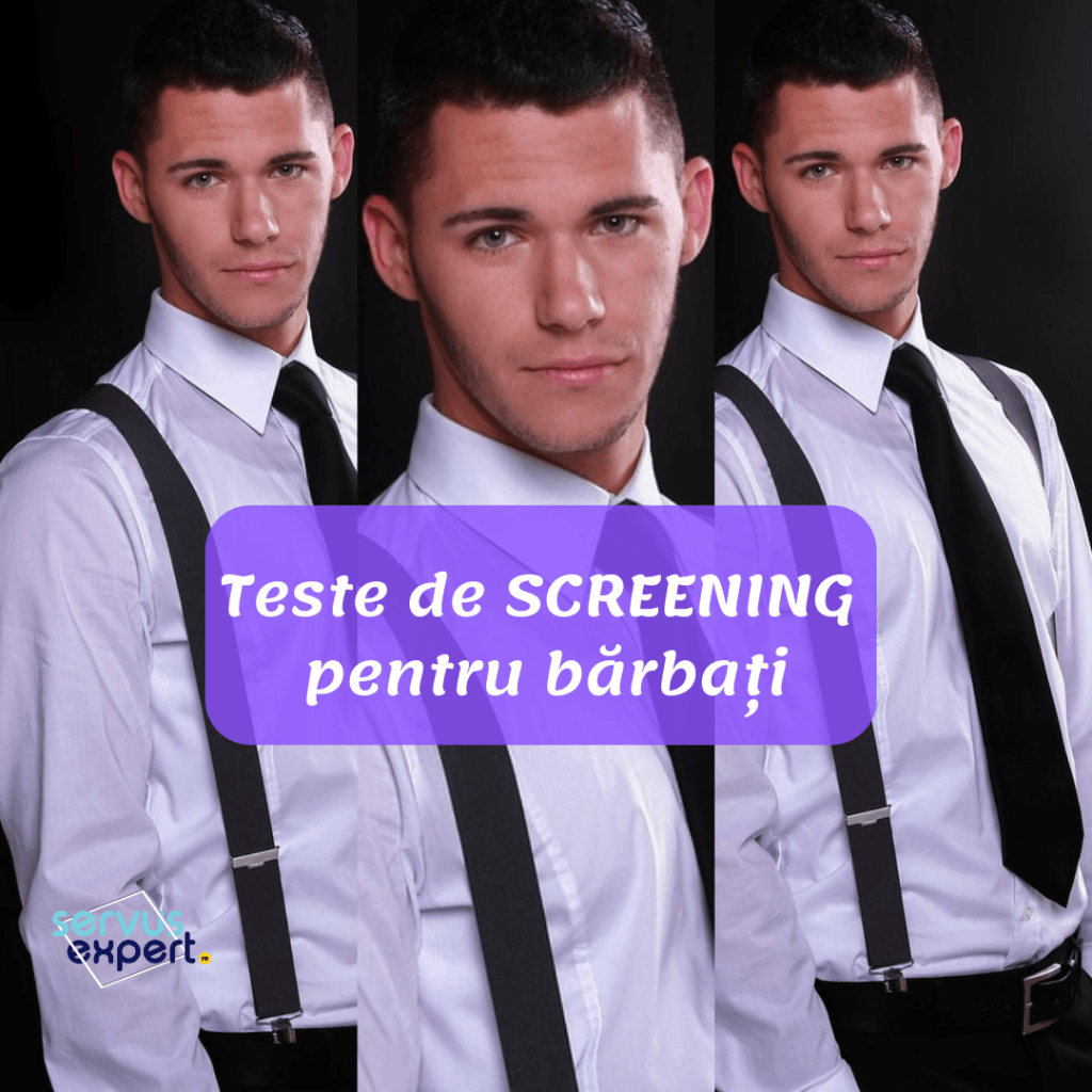 teste de screening pentru barbati