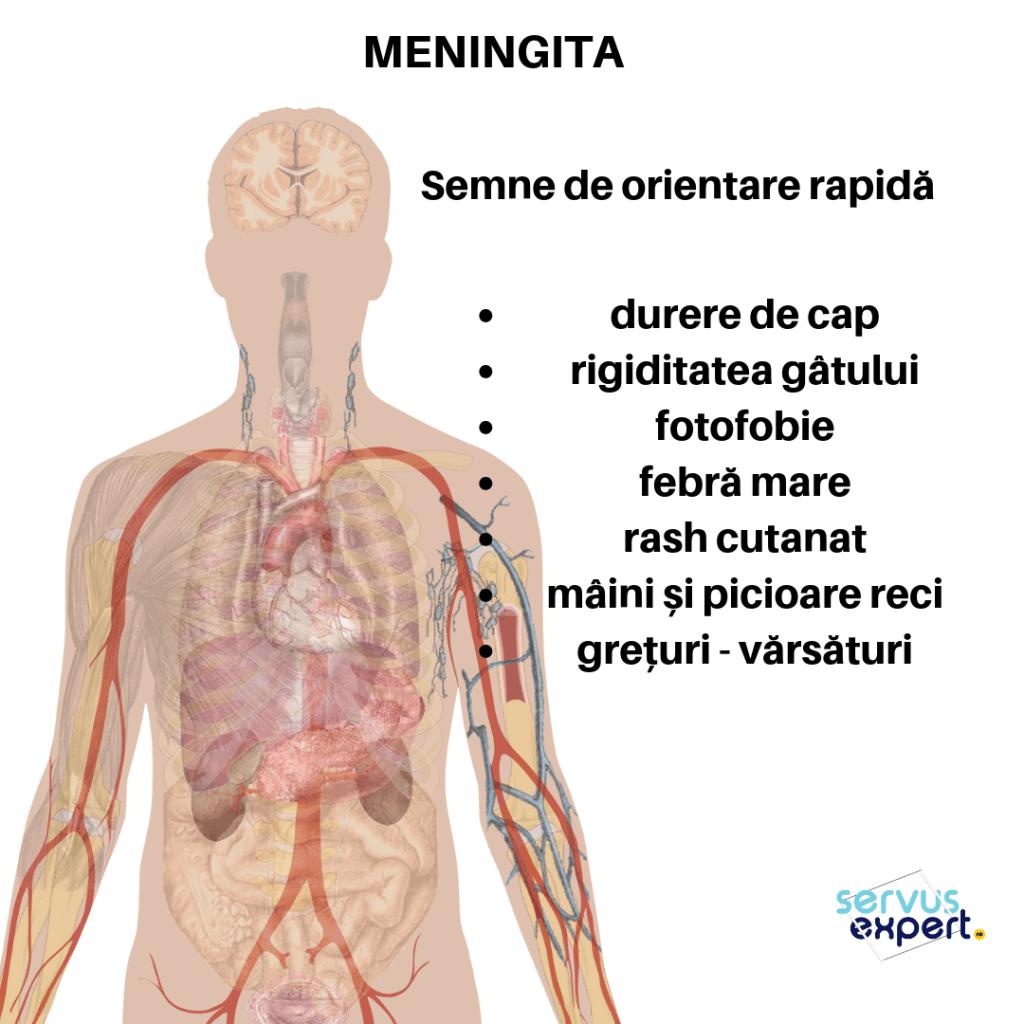 meningita semne