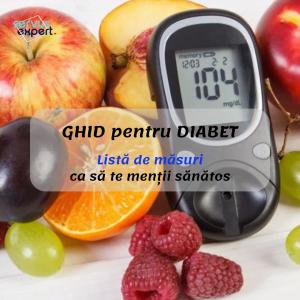 GHID DIABET - reguli obligatorii pentru diabetici