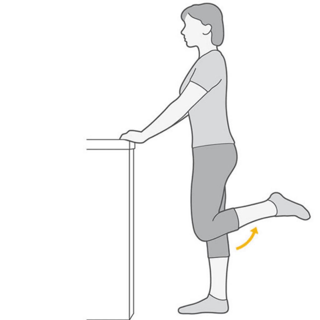 Durere de genunchi care radiaza in jos pe picior