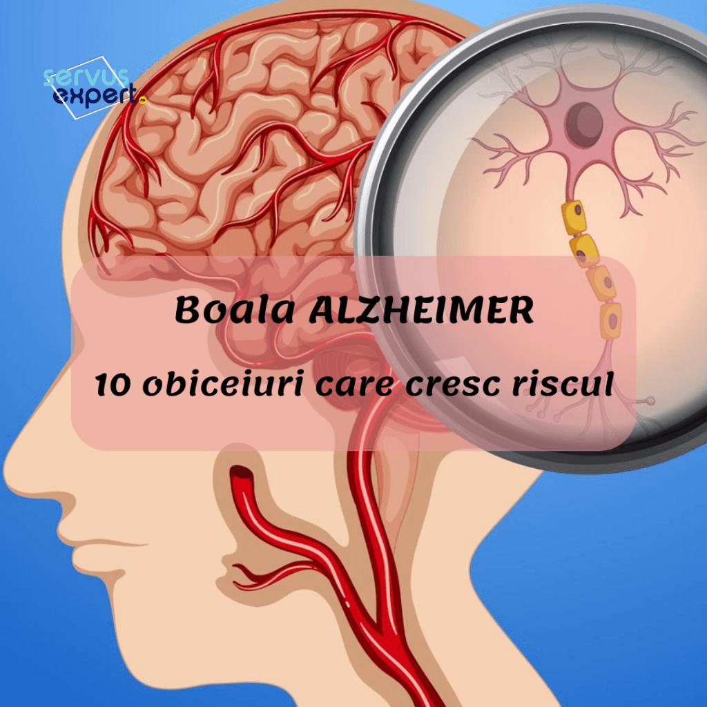 boala alzheimer, 10 obiceiuri proaste care cresc riscul