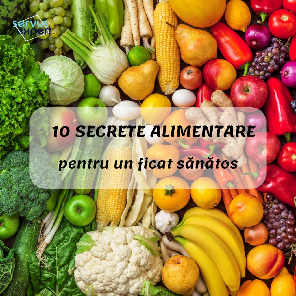 10 secrete alimentare pentru ficat sanatos
