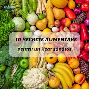 10 secrete alimentare pentru sănătatea FICATULUI