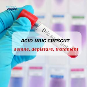 ACID URIC crescut (hiperuricemie): semne, depistare, tratament