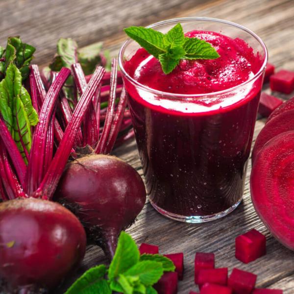 antocianine: beneficii și surse alimentare; suc de sfecla