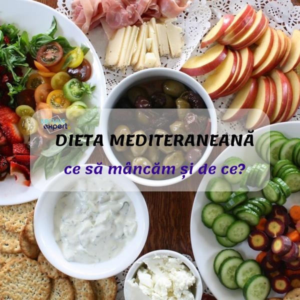 dieta mediteraneană caracteristici principale