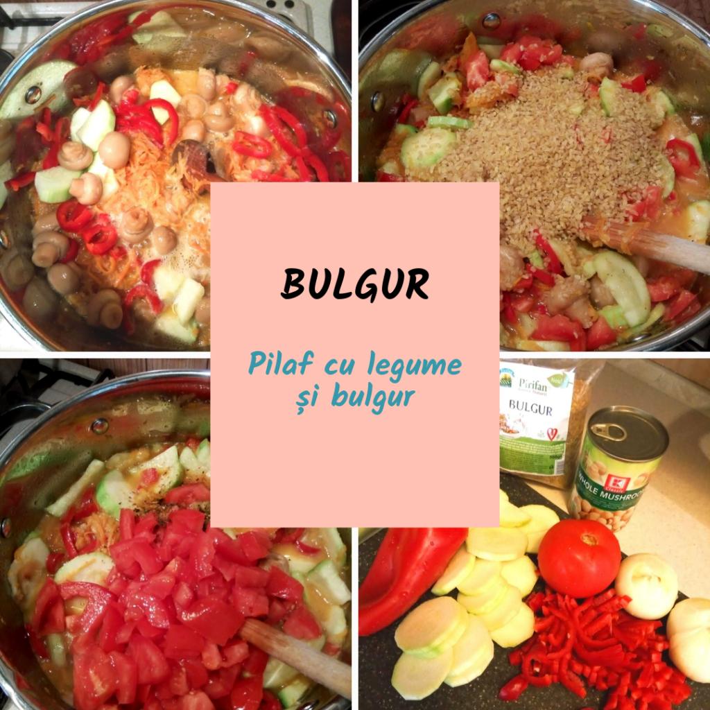 Rețetă de pilaf cu legume și bulgur