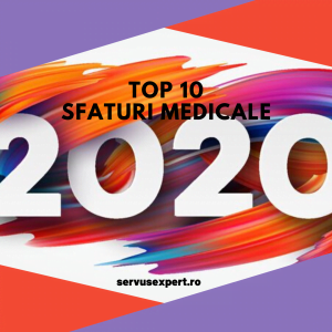 top 10 sfaturi medicale de urmat în 2020