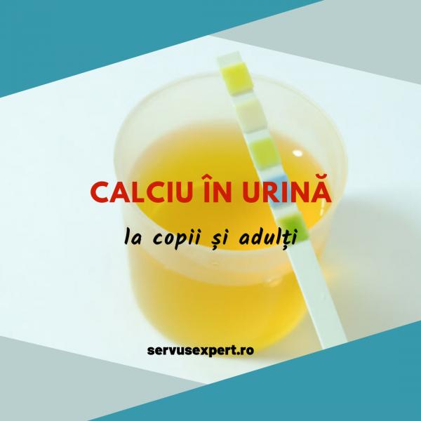 calciu în urină (hipercalciuria)