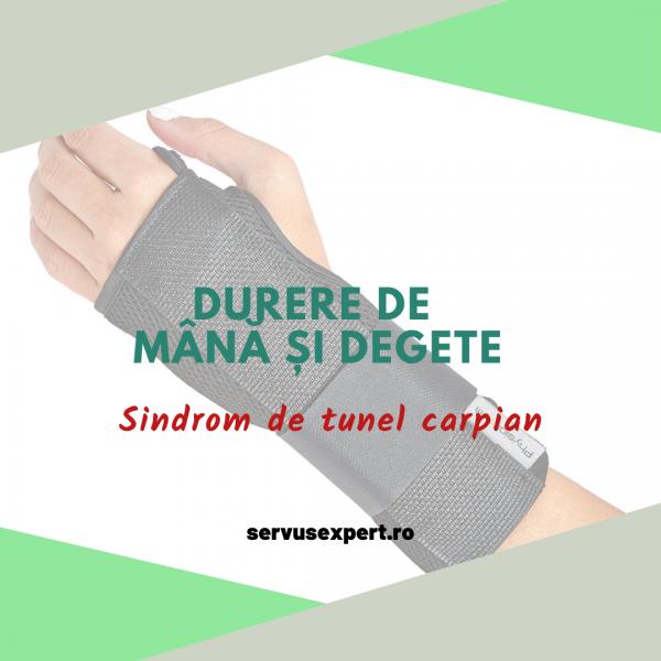 durere de mână și degete