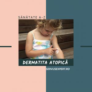 ECZEMA ( dermatita atopică ) la copii și adulți