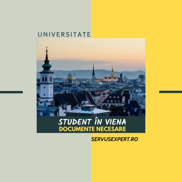 student în Viena: documente necesare