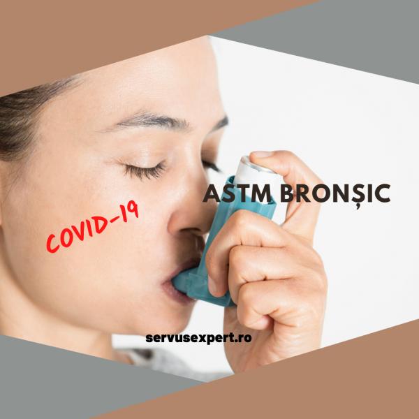covid-19 și astm bronșic: precauție sporită