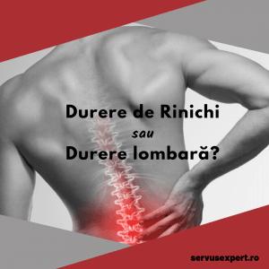 durere de rinichi sau durere lombară