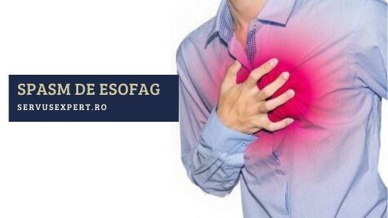 spasm esofagian