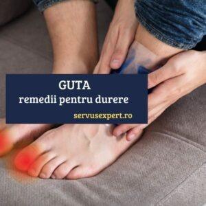 GUTA - remedii pentru durere și inflamație