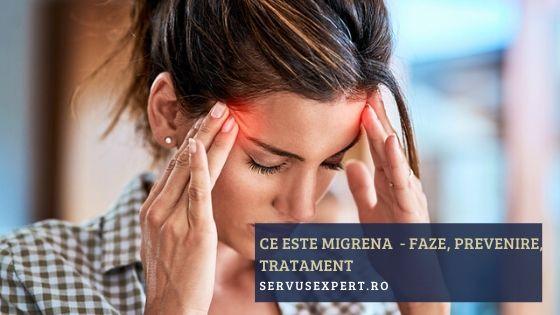 ce este migrena - cum prevenim durerea de cap