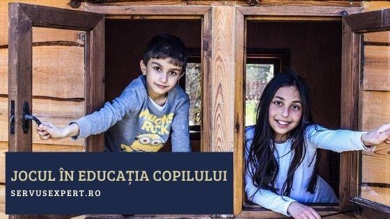 jocul în educația copilului