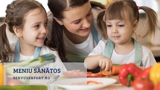 meniu sănătos pentru copii și adulți