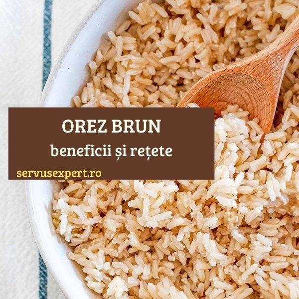 reteta cu orez brun