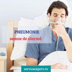 pneumonie simptome