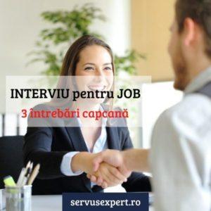 interviu pentru job