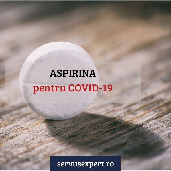 aspirina pentru covid