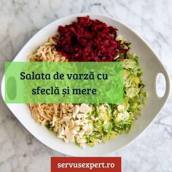 salata de varza cu sfecla